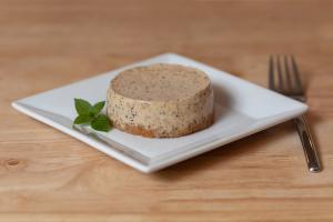 Espresso Cheesecake Plated