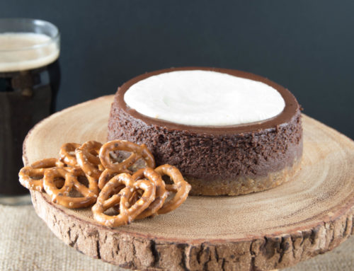 Introducing Chuckanut Bay's NEW Chocolate Stout Cheesecake