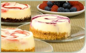 Chuckanut Bay Foods Summer Cheesecakes
